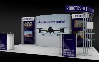 Interactive Aerial Displaying at ASNT in Las Vegas