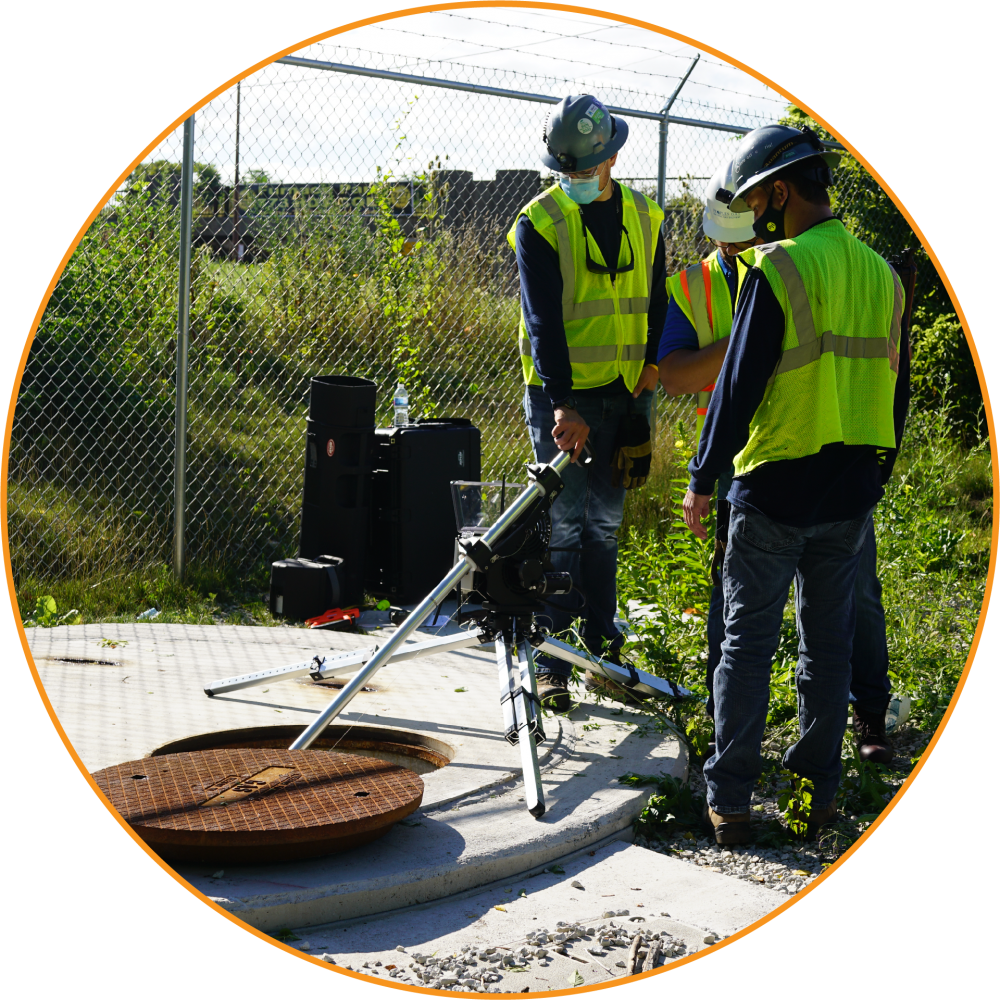 Inspection Services Team at Interactive Aerial